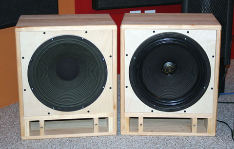bass speaker cabinet plans