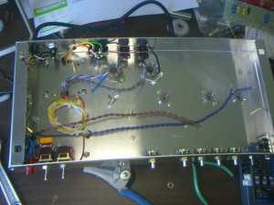 An overall view of the OT and PT pre-wiring