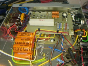 Power supply side view