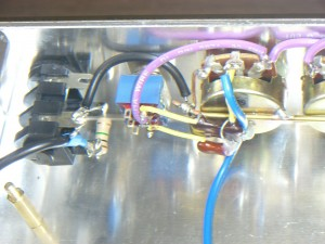 Input jack and bright cap wiring