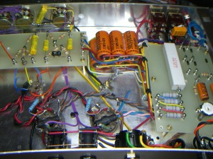 Power supply rear view